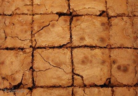 brownie kockák
