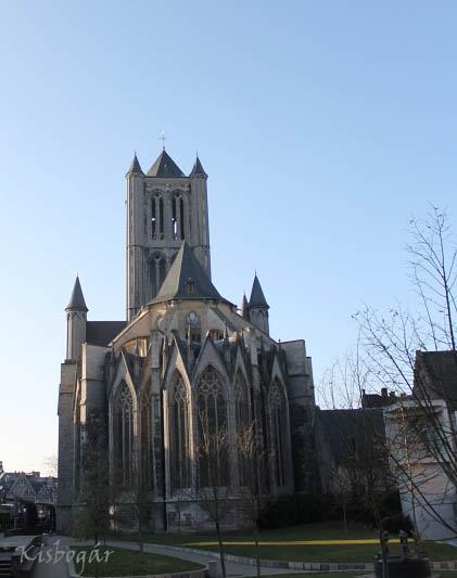 Saint Nicholas cathedral Ghent