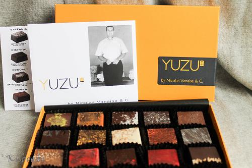 Yuzu by Nicolas Vanaise, Ghent Belgium