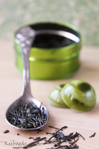 green tea lime chocolates