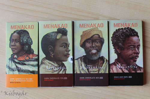 Menakao chocolate bars