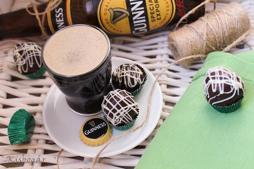 Guinness truffle