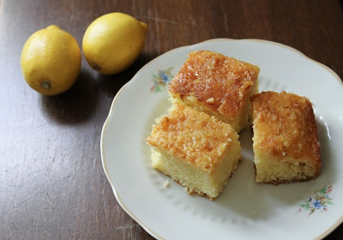 lemon teacake