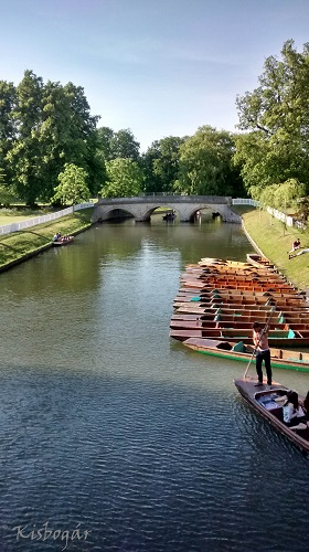punts at Cambridge