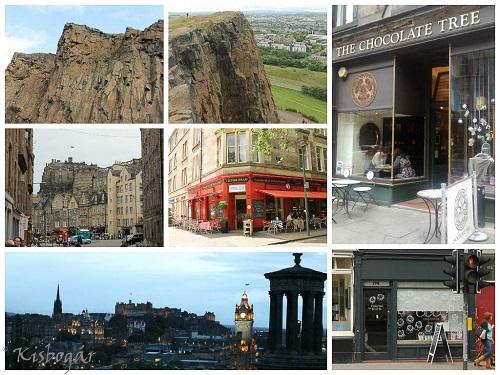Edinburgh nagyon szép és csokikkal teli város.