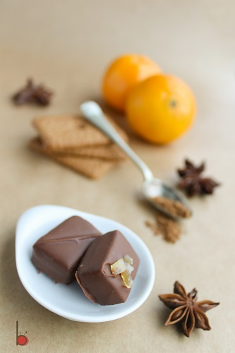 orange gingerbread chocolate