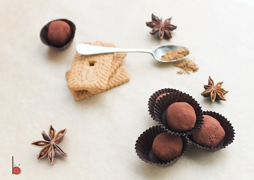 speculoos truffles